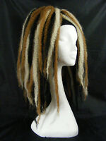 KRINKLEPUFFS BLONDE BROWN BLACK HAIR FALLS CYBERLOX DREADS CYBER GOTH