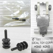 2 1981 Ideal Toys HO Slot Car Guide Pins New Old Stock RaRe Odd Parts