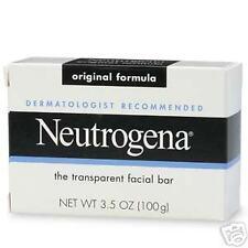 Neutrogena Transparent Facial Bar Original Soap 3.5oz: 5 pack