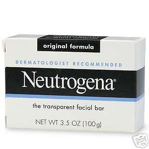 Neutrogena Transparent Facial Bar Original Soap:24 pack