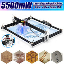 5500mw Desktop Laser Engraving Cutting Engraver CNC Carver DIY Printer 42H34S