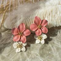 New Arrival Women Stud Earrings Big Flower Earrings Fashion Jewelry Accessories