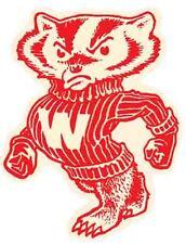 Wisconsin Badgers University   Vintage Looking   Travel Decal  Sticker  College