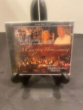 BILL & GLORIA GAITHER - A Campfire Homecoming - CD - Enhanced Import - BRAND NEW