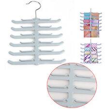 Fishbone Necktie Tie Belt Hanger Rack Shawl Scarf Clip Holder Organizer  New.
