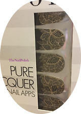 OPI Pure Lacquer Nail Apps -- Gold Lace -- 16 Pre-Cut Strips AP111
