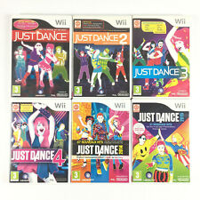 Just Dance 1 2 3 4 + 2014 + 2015 Wii / Lot 6 Jeu Nintendo Wii
