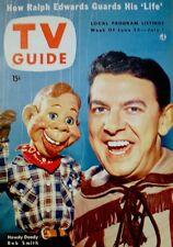 TV Guide 1954 Howdy Doody Buffalo Bob Smith V2N26 Lucille Ball NM COA