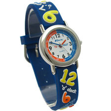 Pink Ravel Boys 3d Design Time Teacher Quartz Watch With White Dial R1513