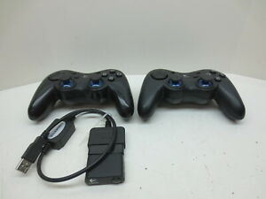 2 Sony PlayStation 2 PS2 Logitech Wireless Controllers G-X2D11 Receiver Dongles