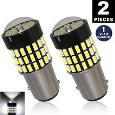 LUYED 2 x 900 Lumens 12-24v 1157 3014 78-smd White 1157 2057 2357 7528 LED Bulbs