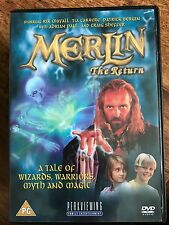 Rik Mayall MERLIN THE RETURN ~ 1999 Hallmark Fantasy Epic | UK DVD