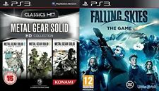 metal gear solid hd collection USED & falling skies the game NEW&SEALED  PS3 PAL