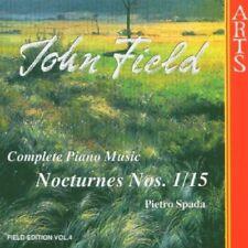 Pietro Spada - John Field Complete Piano Music Nocturnes Nos 115 [CD]