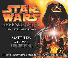STAR WARS Revenge of the Sith by Matthew Stover Audiobook  CD ALBUM  NEW -SEALED