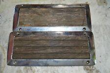 Step Pad Frames with Teak For sloped deck Vintage Classic Chris Craft Century AF