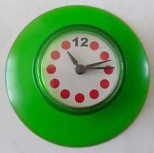 Horloge de douche, salle de bain ventouse, pile fournie, vert