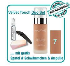 Malu Wilz-velvet Touch Foundation Nr 12- Lichtreflektierende Pigmente