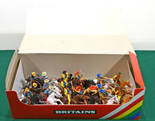Britains Deetail Mounted Cowboys - 18 Figures - 2nd version # 7639 mint in box
