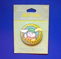 Hallmark BUTTON PIN Easter Vintage CRAYOLA E Bunny Rabbit Mini Holiday NEW*
