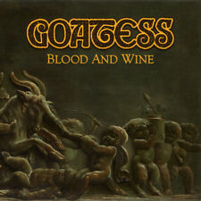 GOATESS - Blood and Wine (NEW*LIM.400 BLACK DLP DOOM METAL*TROUBLE*SABBATH*VITUS
