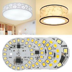 1PC DIY LED Bulb Lamp AC220V Input White Warm 3W 5W 7W 9W 12W 15W SMD Light Chip