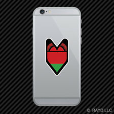 Malawian Driver Badge Cell Phone Sticker Mobile Malawi MWI MW