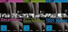 Pier Paolo PASOLINI Trilogy des Lebens DECAMERON 1001 Nacht 3 DVD Collection