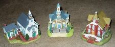 3 Liberty Falls Churches; Pioneers, Trinity, Epiphany Excellent Condition clean