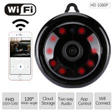 Mini Wireless Wifi Camera Spy IP Security HD 1080P Night Vision Motion Detection