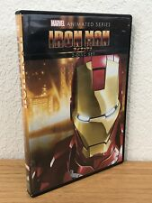 Marvel Animated ~ IRON MAN (DVD, 2012) 2-DISC SET ~REGION 1~ DISCS ARE FLAWLESS