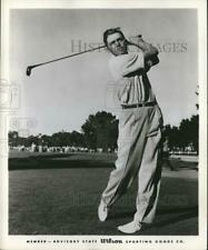 Press Photo Fred Hawkins Golfer - sbs09934