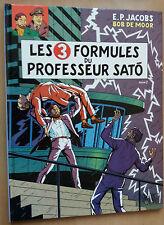 Blake et Mortimer 12 EO Les 3 Formules du Professeur Satô Jacobs