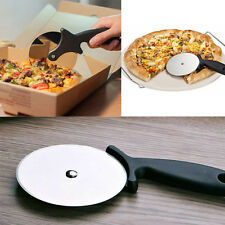 Hot Stainless Steel Pizza Cutter Wheels  Slicer Cake Round Knife Cooking Tools