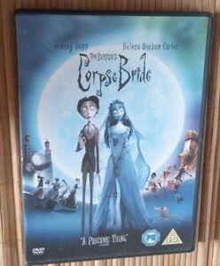 CORPSE BRIDE: HALLOWEEN FAMILY MOVIE TIM BURTON NEW PG DVD 2006
