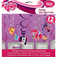 My Little Pony Party Decorations Swirl Girls Birthday Hanging Supplies