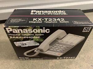 NEW Panasonic Easa-Phone KX-T2342 Corded Telephone Speaker Phone FREE SHIPPING
