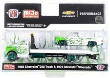 Chase 1968 CHEVROLET C60 TRUCK & 1979 SILVERADO PICKUP 1/64 M2 39200-MJS04