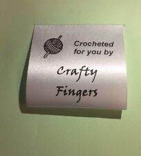 Sew in uncinetto Personalizzati Etichette Craft 14