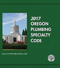 2017 Oregon Plumbing Specailty Code Book  - New