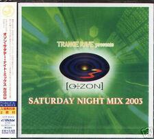 Trance Rave Ozon Saturday Night Mix 2003 Japan CD - NEW