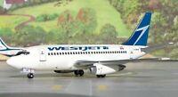 Aeroclassics ACCGWJT WestJet Boeing 737-200 Old Color C-GWJT Diecast 1/400 Model