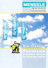 Mengele - Ein starkes Programm, orig. Prospekt 2001