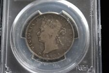 "**1872H Inverted ""A""** PCGS Graded Canadian Silver 50 Cent, **VG-10**"