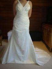 Sz 10 Ivory/Champagne Beach Style Wedding dress
