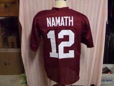 JOE NAMATH UNSIGNED ALABAMA JERSEY HOF85  12 a55622b4c
