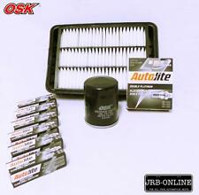 MITSUBISHI OUTLANDER ZG ZH 3.0L V6 OIL AIR FILTER SERVICE KIT+SPARK PLUGS 06-ON