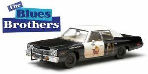GreenLight 1:24 Blues Brothers 1974 Dodge Monaco Bluesmobile