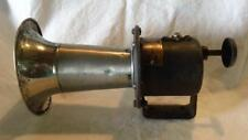 ANTIQUE 1915 HAND KLAXONET HORN by Lovell-McConnell Mfg., Newark - FREE SHIPPING