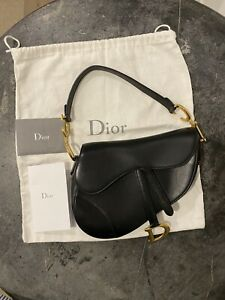 Dior Calf Saddle Bag New Authentic